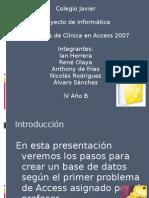 Bimestral de Informatica Problema No.1 Clinica