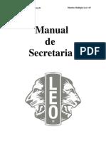 L GD0304 Manual de Secretaria