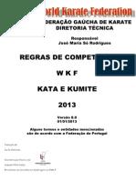 Karate regras de competição 2013