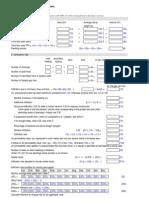 Draft SAP 2009 Worksheet