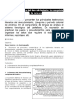 Literatura Del Descubrimiento l Conquista y La Colonia.