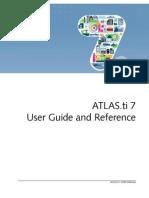 Atlasti v7 Manual 201301