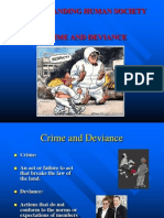 Crime and Deviance - 1