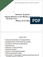 Country Responses to the Financial Crisis Kosovo
