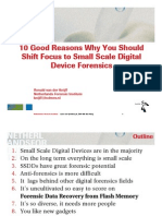 Small Scale Digital Forensics