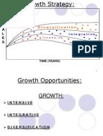 Growth Strategies- Marketing