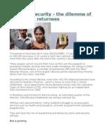 No ID, no security     the dilemma of Sri Lanka's returnees