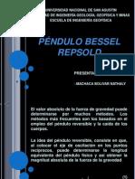 Pendulo Bessel - Repsold
