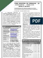 CE Forquilha Pref Ed 1701