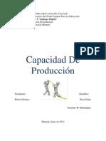 Capacidad de Produccion 2