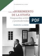 ElAburrimientoDeLaUtopia_FrancescLlorens
