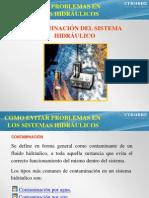 Contaminación de sistemas hidraulicos