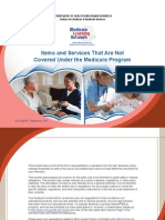 Items and Services Not Covered Under Medicare BookletICN906765