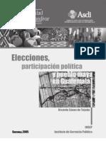 Elecciones, Participación Política y Pueblo Maya en Guatemala