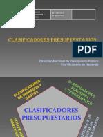 _Clasificadores Programáticos
