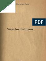 vocablos salitreros