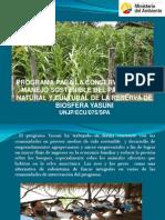 Programa Yasuni Pres. Fao Al Fodm Sep. 1 2011-1