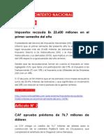 Noticas Del Contexto Internacional y Nacional 05-07-13