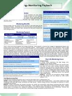 Payback and Process- Energy Monitoring Payback