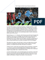 FIFA U-20 World Cup How Uruguay Emulated a Typical Spanish Performance