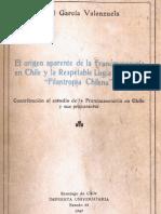 Origen Del Francmasoneria en Chile