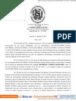 Declaran inadmisible recusación hecha por Capriles contra magistrados del TSJ