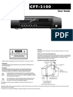 c Ft 2100 User Guide