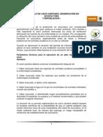 VSDR PROTOCOLO DE VACIO SANITARIO, DESINFECCIÓN EN ACUICULTURA Y REPOBLACION