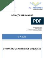 5ª AULA RELAÇÕES HUMANAS