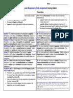 ELA30-1 PRTT Rubric Adapted