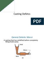 Casting Defects- Dr. Manjula Nanayakkara