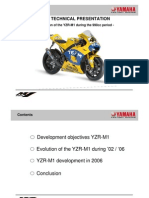 2006 Yamaha MotoGP YZR-M1 Technical Presentation