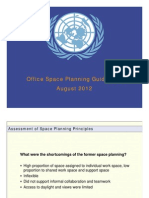 Space Planning Guidelines Update Aug12