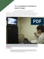 12/07/13 sintesismx Exhorta SSO a la población combatir la obesidad desde el hogar