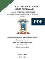 Medicina Precolombina Incaica