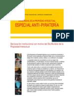 Especial Antipirateria