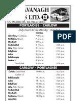 Portlaoise-Carlow