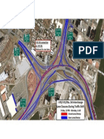 Lane closures on Interstates 95 and 91, Route 34 July 27-29
