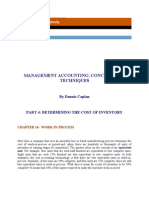 Management Accounting Wip