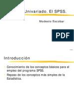A1.- Analisis de Cuestionarios. El SPSS