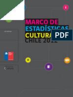 Marco de Estadisticas Culturales Chile 2012
