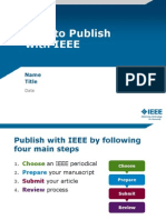How to Publish With Ieee Presentation