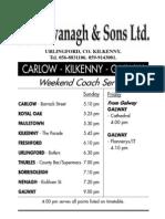 Carlow-Kilkenny-Galway