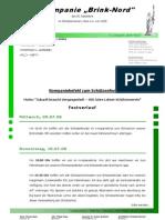 """Kompaniebefehl 2008 der 6. Kompanie """"Brink-Nord"""""""