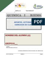 QUIMICA I RIEMS b 1 y 2