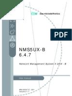 Nms5ux User Manual