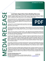 Land Report Media Release Mar 13 Qtr (1)