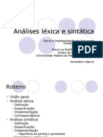 AnalisesLexicaSintatica.ppt