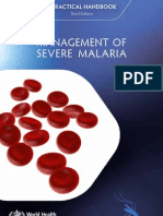 WHO - Management of Severe Malaria 2013