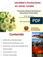 Biodiversidad y Ecoturismo
